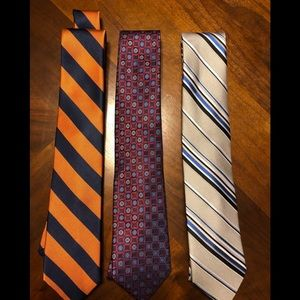 Lot of (3) ties. From my personal collection